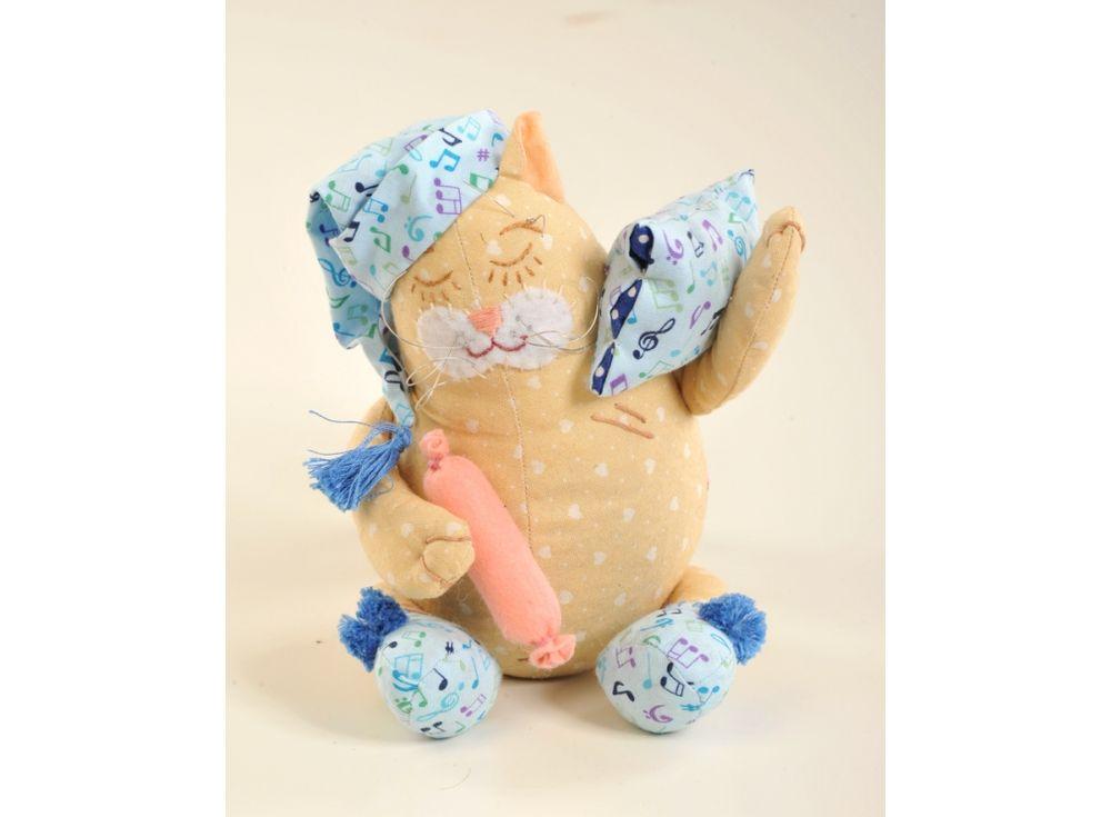 Набор для шитья «Кот-Баюн»Наборы для шитья игрушек<br><br>