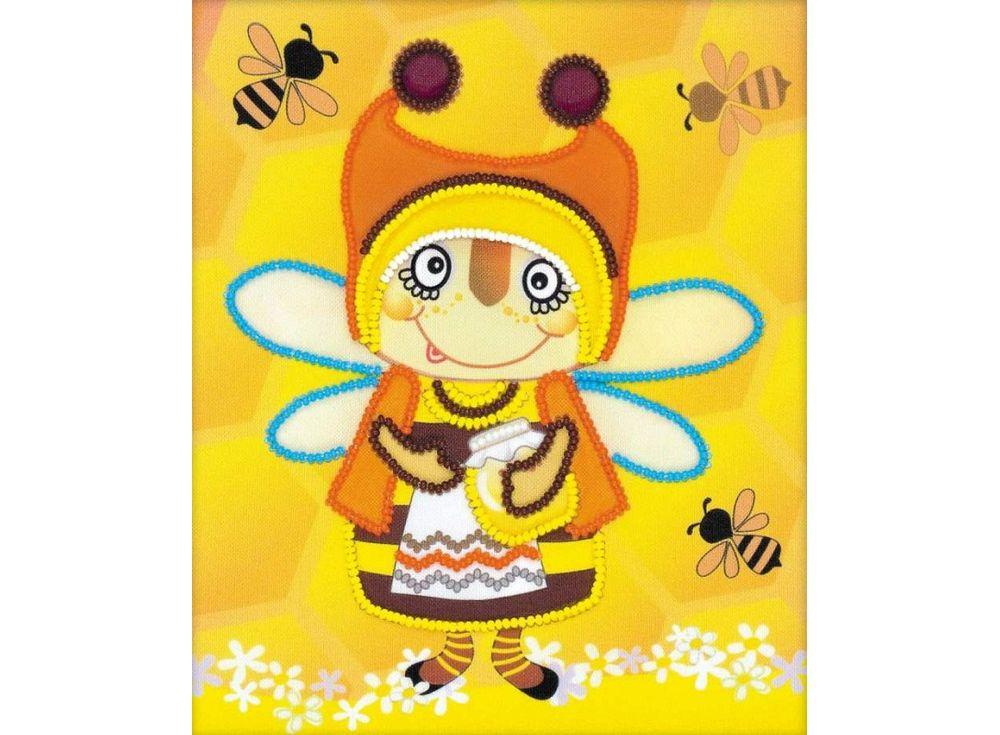 Набор вышивки бисером «Бабушка пчела»Вышивка бисером Риолис<br><br>