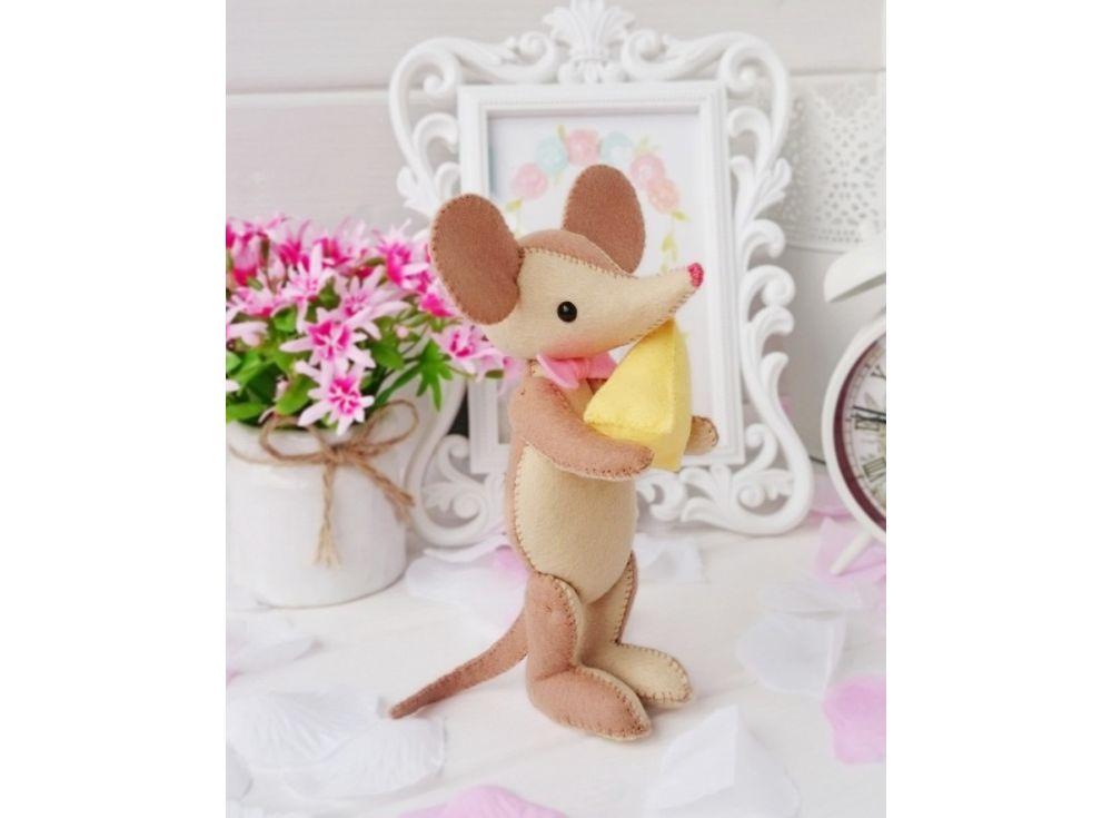 Набор для шитья игрушки «Мышонок МИМИ»Наборы для шитья игрушек<br><br>
