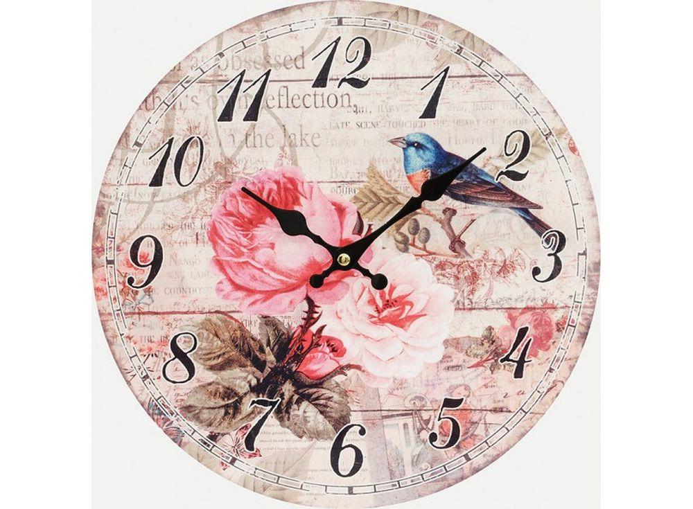 Часы настенные «Летняя песня»Дизайнерские настенные часы<br><br><br>Артикул: 140-CL<br>Размер: 34 см (диаметр)