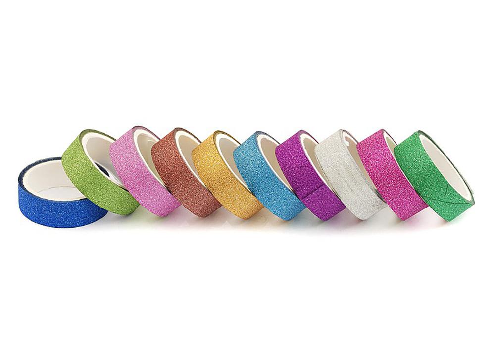 Скотч «Цветной фейерверк» (10 цветов)Бумага и материалы для скрапбукинга<br>Красивый декоративный скотч - прекрасный материал для работы в технике скрапбукинг, его можно наклеить и снять без повреждения основы. <br> <br> Набор:10 цветов<br> Ширина ленты: 1,5 см<br>Длина рулона: 3 м<br><br>Артикул: 2200-SB<br>Размер: 1,5x300 см