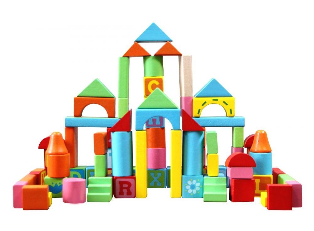 Деревянный конструктор «Кубики»Настольные развивающие игры<br>Деревянный конструктор из различных геометрических фигур - это самый простой и доступный к пониманию ребенка конструктор. Он состоит из 82 разноцветных деревянных деталей, окрашенных безопасными и яркими красками на водной основе. В составе конструктора т...<br><br>Артикул: 57043<br>Возраст: от 3 лет<br>Время игры: 10-30 мин.<br>Количество игроков: 1+<br>Аудитория: Детские