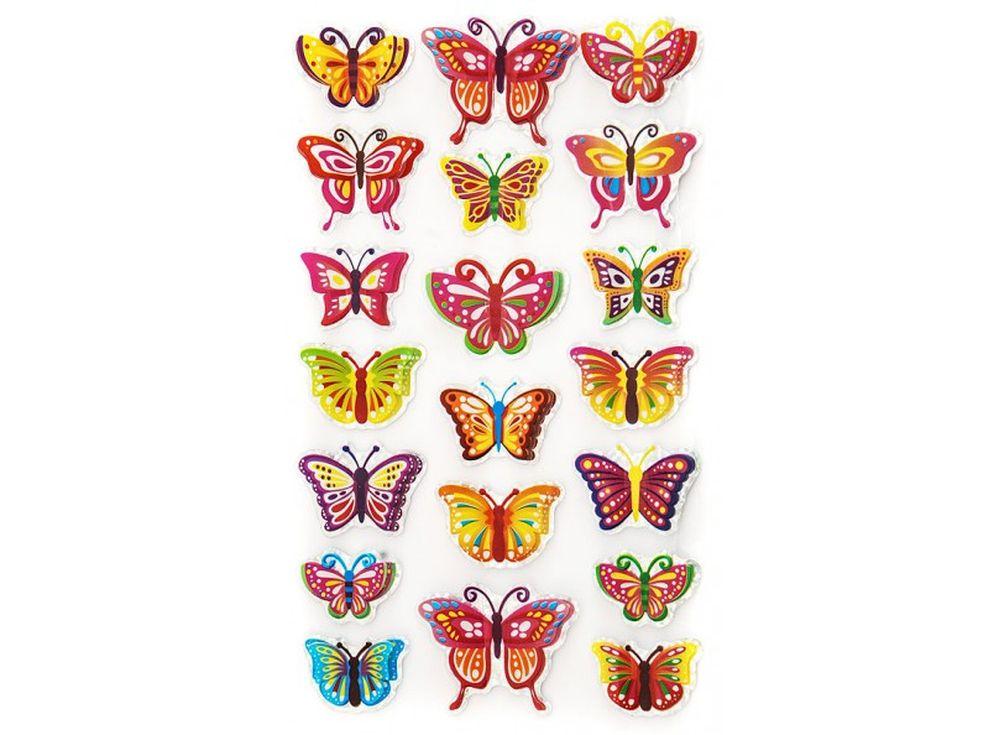 Декоративные наклейки «Дневные бабочки»Всё для скрапбукинга<br>Наклейки изготовлены из цветной пленки:<br><br><br>верхняя часть - объемные крылышки;<br>нижняя часть (основа наклейки) - приклеена на лист-подложку.<br><br><br>Яркие декоративные наклейки украсят любые изделия, оформленные в стиле скрапбукинг: альбомы, блокноты,...<br>