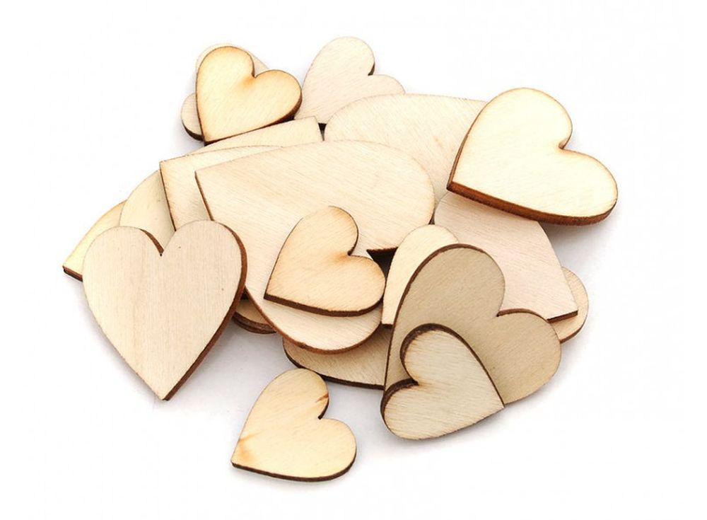 Деревянные чипборды «Сердечки»Бумага и материалы для скрапбукинга<br><br><br>Артикул: 840-DB<br>Размер: 2-4 см<br>Количество: 40 шт.<br>Материал: Дерево