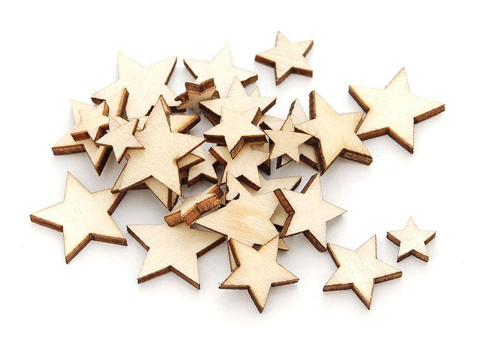 Деревянные чипборды «Звезды»Бумага и материалы для скрапбукинга<br><br><br>Артикул: 843-DB<br>Размер: 0,8-2 см<br>Количество: 70 шт.<br>Материал: Дерево