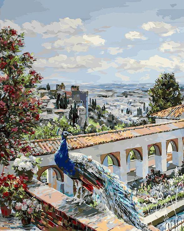 Картина по номерам «Сады Гранады» творческого коллектива Artemis