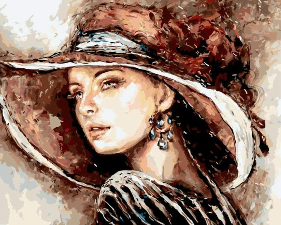 Картина по номерам «Красота женщины» Эльжбеты БрожекРаскраски по номерам Paintboy (Original)<br><br><br>Артикул: GX3745_R<br>Основа: Холст<br>Сложность: средние<br>Размер: 40x50 см<br>Количество цветов: 24<br>Техника рисования: Без смешивания красок
