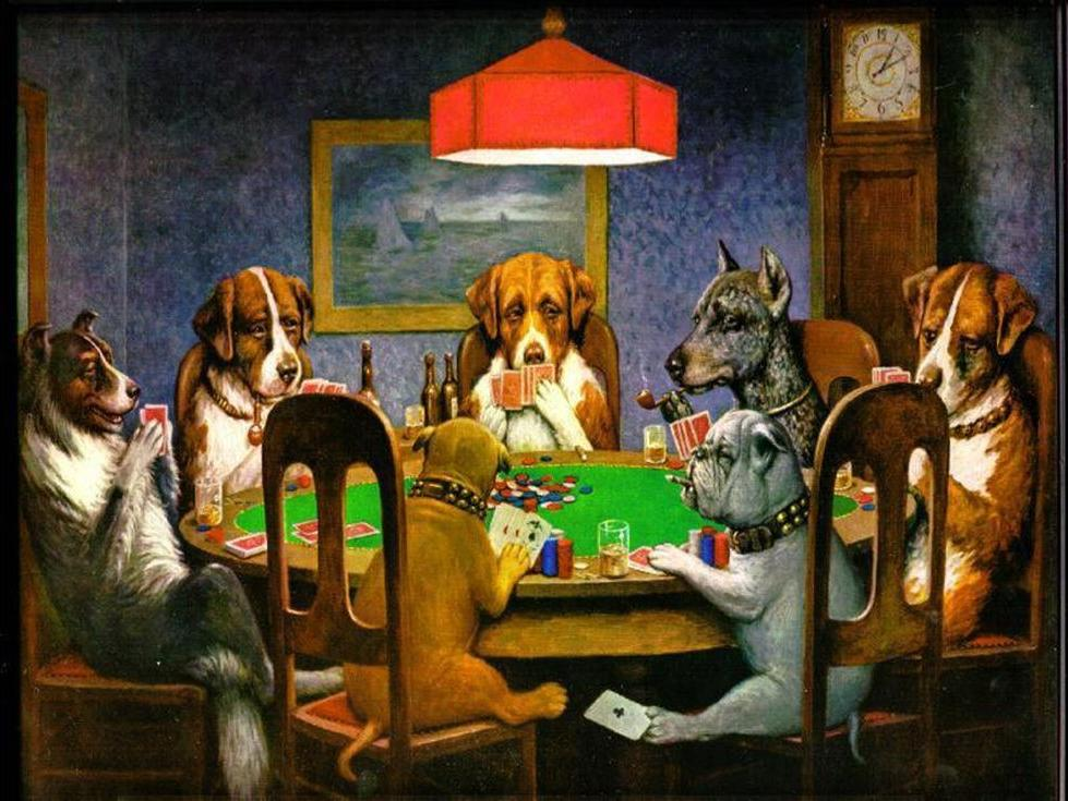 «Собаки, играющие в покер» Кассия Марцелла КулиджаРаскраски по номерам Paintboy (Original)<br><br><br>Артикул: GX4026_R<br>Основа: Холст<br>Сложность: средние<br>Размер: 40x50 см<br>Количество цветов: 27<br>Техника рисования: Без смешивания красок
