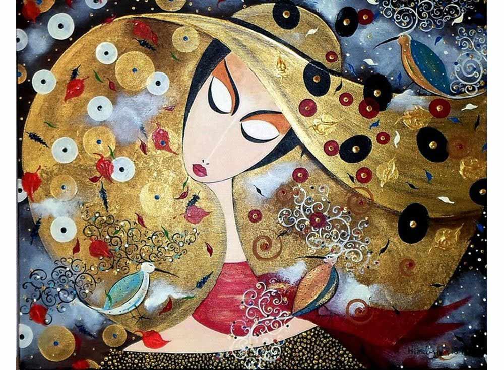 «Элегантная дама» Marek WierchuszkoРаскраски по номерам Paintboy (Original)<br><br><br>Артикул: GX4114_R<br>Основа: Холст<br>Сложность: средние<br>Размер: 40x50 см<br>Количество цветов: 26<br>Техника рисования: Без смешивания красок