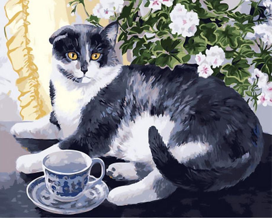 «Утренний чай» Персис Клейтон ВейерсРаскраски по номерам Paintboy (Original)<br><br><br>Артикул: GX4140_R<br>Основа: Холст<br>Сложность: средние<br>Размер: 40x50 см<br>Количество цветов: 26<br>Техника рисования: Без смешивания красок
