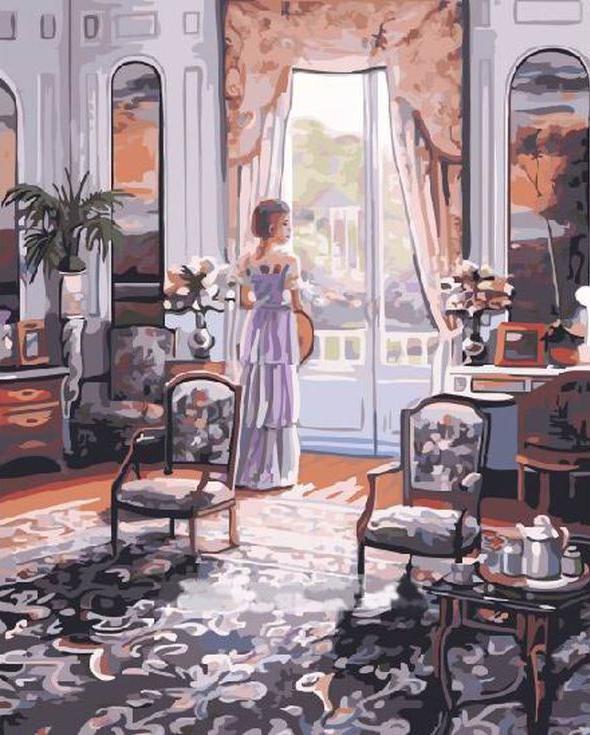 «Любование» Джона О'БрайенаРаскраски по номерам Paintboy (Original)<br><br><br>Артикул: GX4200_R<br>Основа: Холст<br>Сложность: средние<br>Размер: 40x50 см<br>Количество цветов: 27<br>Техника рисования: Без смешивания красок