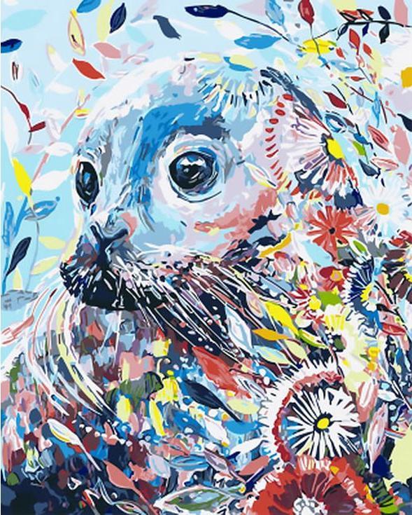 «Морской лев» Старлы МишельРаскраски по номерам Paintboy (Original)<br><br><br>Артикул: GX4250_R<br>Основа: Холст<br>Сложность: средние<br>Размер: 40x50 см<br>Количество цветов: 24<br>Техника рисования: Без смешивания красок