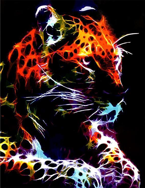 «Взгляд хищника»Paintboy (Premium)<br><br><br>Артикул: GX4574<br>Основа: Холст<br>Сложность: средние<br>Размер: 40x50 см<br>Количество цветов: 23<br>Техника рисования: Без смешивания красок