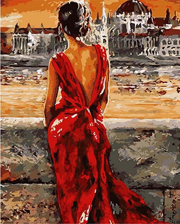«Роковая женщина» Эмерико ТотаРаскраски по номерам Menglei (Standart)<br><br><br>Артикул: MG8103_S<br>Основа: Холст<br>Сложность: сложные<br>Размер: 40x50 см<br>Количество цветов: 24<br>Техника рисования: Без смешивания красок
