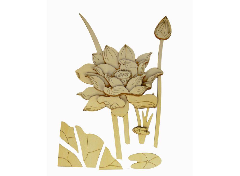 Набор для творчества. Декоративное панно из дерева «Лотос» (часть С)Декоративные панно из дерева<br>Панно всегда привлекают внимание и часто становятся доминантой в интерьере. А если эта важная составляющая изготовлена собственноручно и из экологически чистого материала, то, несомненно, декоративное панно станет акцентом дизайна. Именно для тех, кто цен...<br><br>Артикул: LTH-H003C-S<br>Вес: 1100 г<br>Материал: Дерево<br>Упаковка: картонная коробка<br>Размер упаковки: 46x61x3,5 см<br>Возраст: от 6 лет