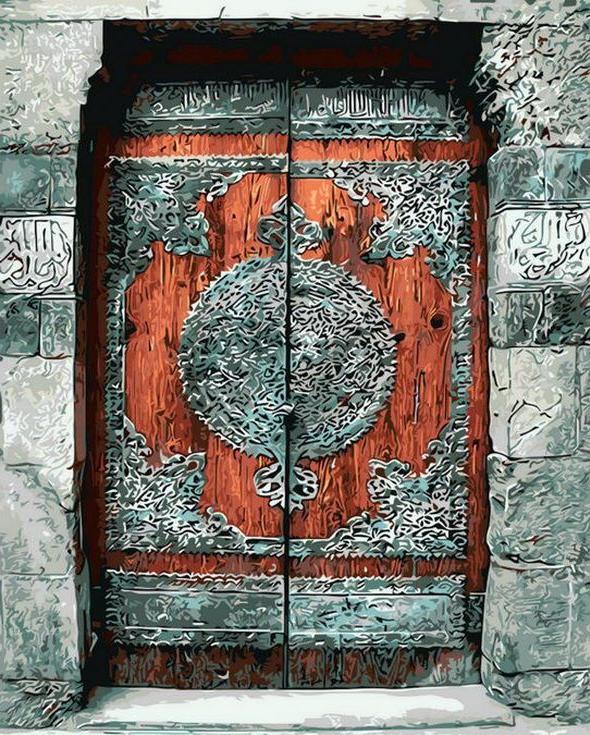 «Потайная дверь»Раскраски по номерам Menglei (Standart)<br><br><br>Артикул: MG8212_S<br>Основа: Холст<br>Сложность: сложные<br>Размер: 40x50 см<br>Количество цветов: 23<br>Техника рисования: Без смешивания красок