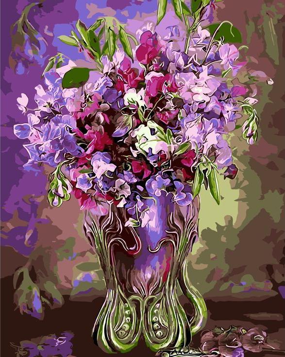«Цветочное великолепие» Кэрол КаваларисРаскраски по номерам Menglei (Standart)<br><br><br>Артикул: MG6066_S<br>Основа: Холст<br>Сложность: сложные<br>Размер: 40x50 см<br>Количество цветов: 24<br>Техника рисования: Без смешивания красок
