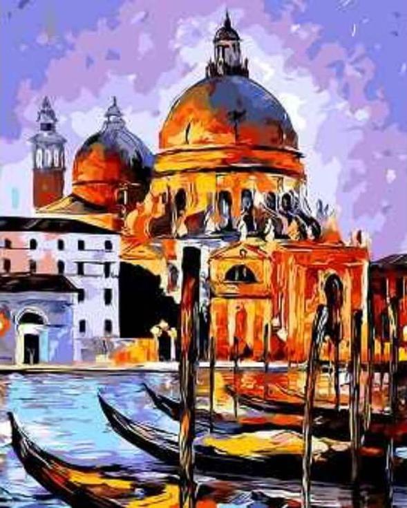 «Ночная Венеция» Леонида АфремоваЦветной (Premium)<br><br><br>Артикул: MG6487_Z<br>Основа: Холст<br>Сложность: сложные<br>Размер: 40x50 см<br>Количество цветов: 25<br>Техника рисования: Без смешивания красок