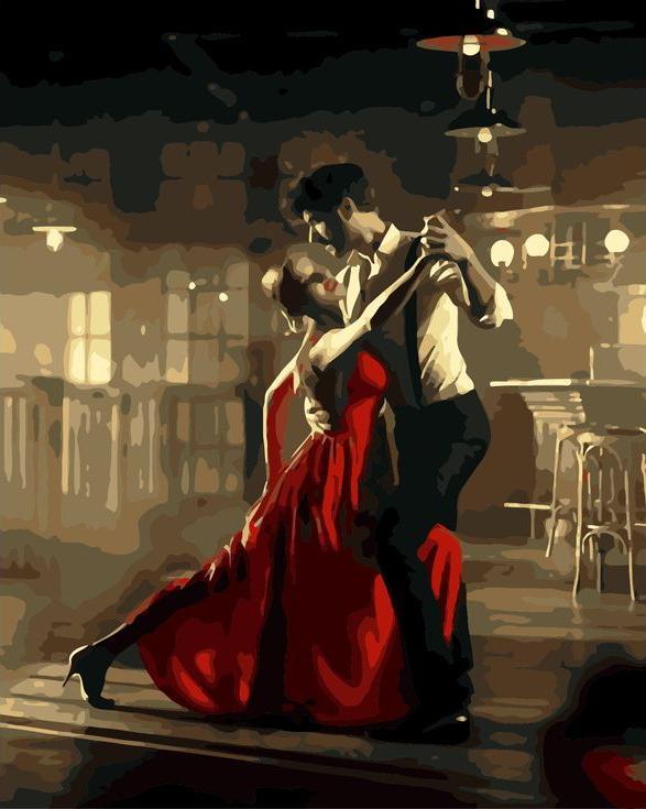 «Аргентинское танго»Раскраски по номерам Menglei (Standart)<br><br><br>Артикул: MG6774_S<br>Основа: Холст<br>Сложность: сложные<br>Размер: 40x50 см<br>Количество цветов: 20<br>Техника рисования: Без смешивания красок