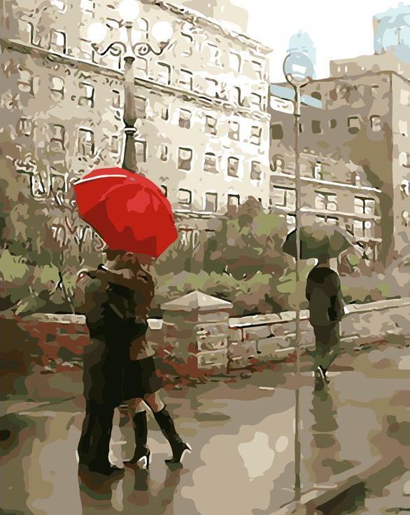 «Красный зонт» Даниэля дель ОрфаноРаскраски по номерам Menglei (Standart)<br><br><br>Артикул: MG7016_S<br>Основа: Холст<br>Сложность: сложные<br>Размер: 40x50 см<br>Количество цветов: 24<br>Техника рисования: Без смешивания красок