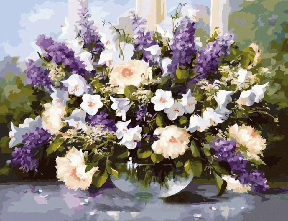 Картина по номерам «Аромат весны» Хайнца ШольнхаммераРаскраски по номерам<br><br>