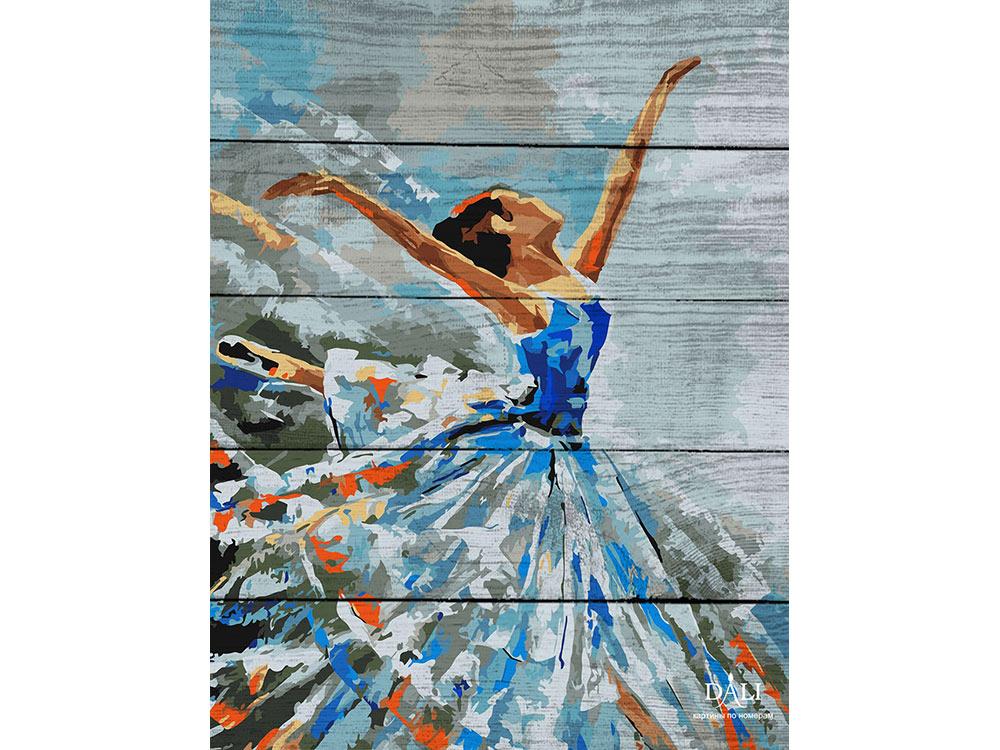 Картина по номерам по дереву Dali «Балерина»Картины по номерам по дереву Dali<br>Новинка в наборах для творчества - картины по номерам по дереву Dali. Преимущества максимальной комплектации понятны с первого взгляда, в наборе есть все, чтобы создать невероятный по красоте шедевр. Однако не только в этом уникальность новинки, ведь<br> де...<br><br>Артикул: WJ001<br>Основа: Деревянное панно<br>Сложность: очень сложные<br>Размер: 40x50 см<br>Количество цветов: 24<br>Техника рисования: Без смешивания красок