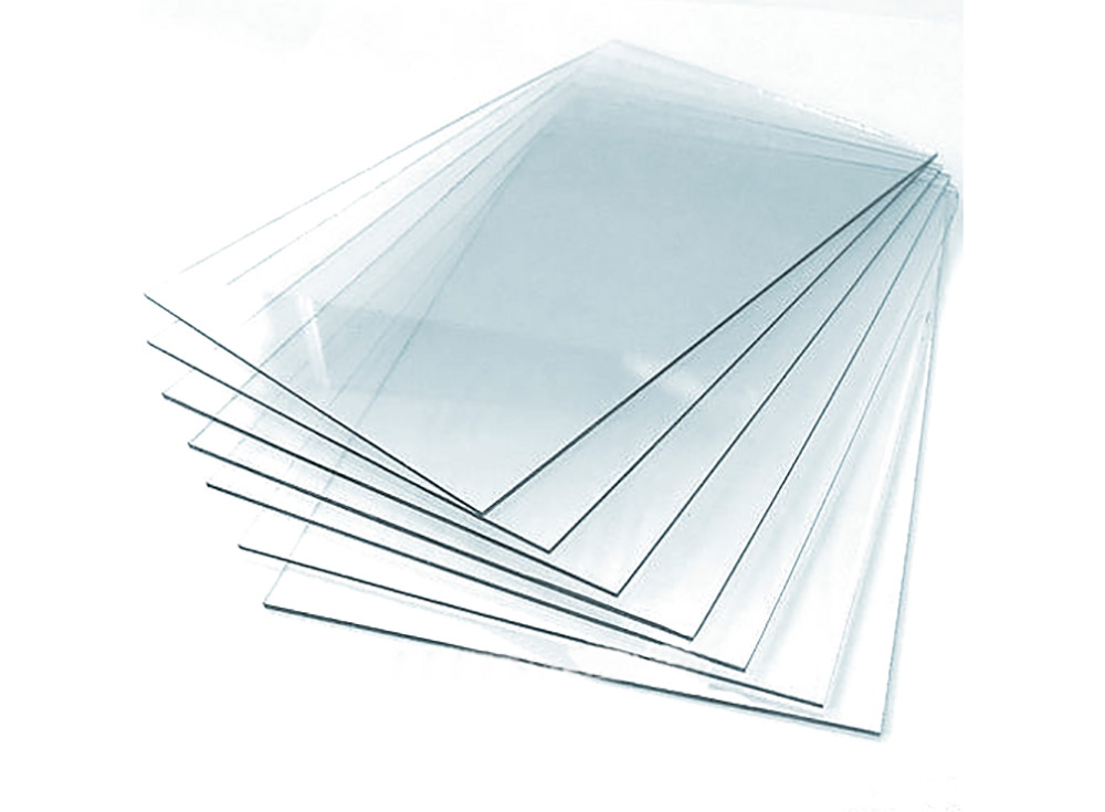 Стекло из полистиролаБагетные рамки<br><br><br>Артикул: GLASS4040<br>Размер: 40x40 см, толщина: 1-2 мм<br>Материал: Полистирол