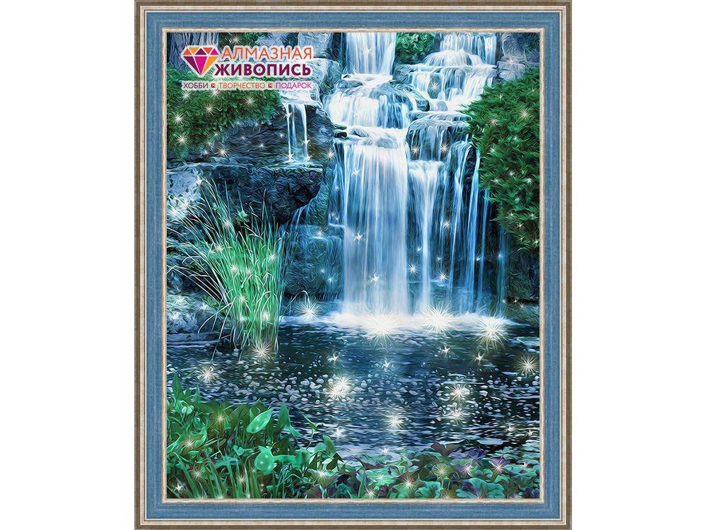 Алмазная вышивка «Искрящийся водопад»Алмазная вышивка<br><br>