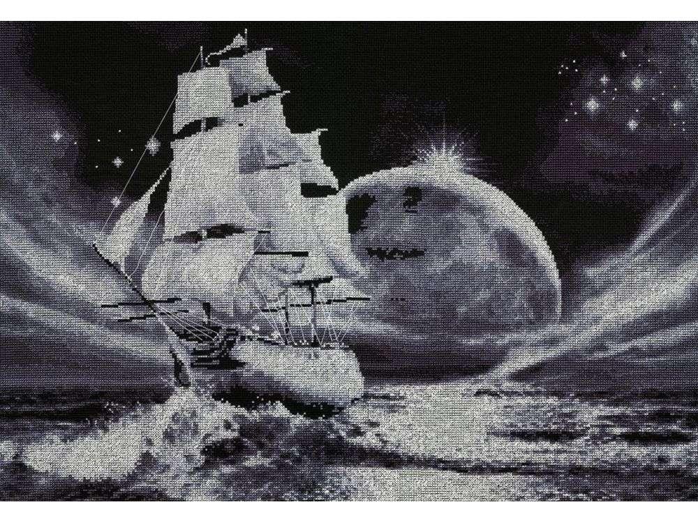 Набор для вышивания «Лунный путь»Вышивка крестом Золотое Руно<br><br>