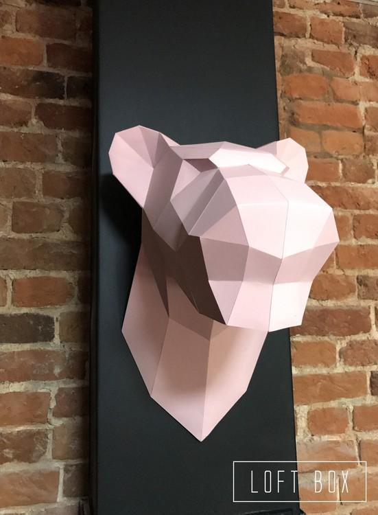 Набор для сборки полигональной фигуры «Пантера»Полигональные фигуры<br>Набор для сборки полигональной фигуры - креативная новинка от российского бренда LOFT BOX.<br> Для изготовления объемной фигуры из картона не нужны специальные навыки, творческий процесс предельно прост и подробно рассмотрен в инструкции.<br> <br> Как создать п...<br><br>Артикул: Н-П006<br>Основа: Картон<br>Размер: Высота: 45 см<br>Цвет: Розовый