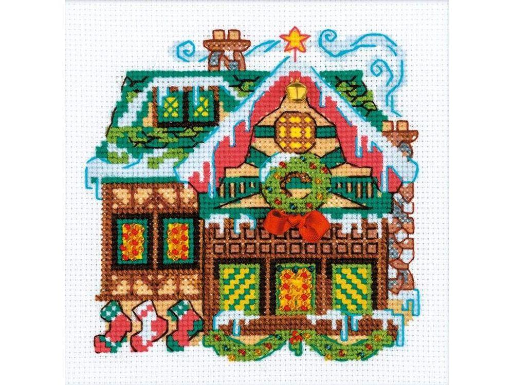 Набор для вышивания «Домик с колокольчиком»Вышивка крестом Риолис<br><br>