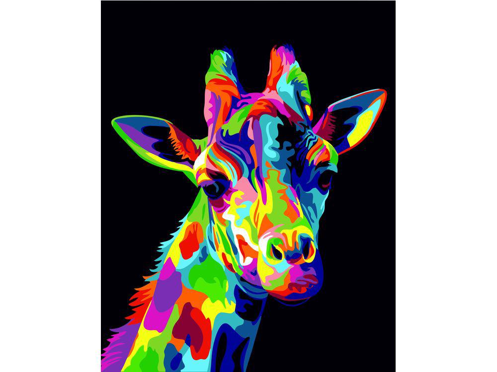 Картина цветным песком «Радужный жираф» Ваю РомдониКартины из цветного песка<br>Картины песком завоевали популярность среди взрослых и детей благодаря интересному творческому процессу и прекрасному результату. Мы разнообразили ассортимент в этом виде творчества, и теперь наши покупатели могут создавать полюбившиеся композиции из сери...<br><br>Артикул: 304001013<br>Размер: 30x40 см<br>Количество цветов: 25<br>Упаковка: Картонная коробка