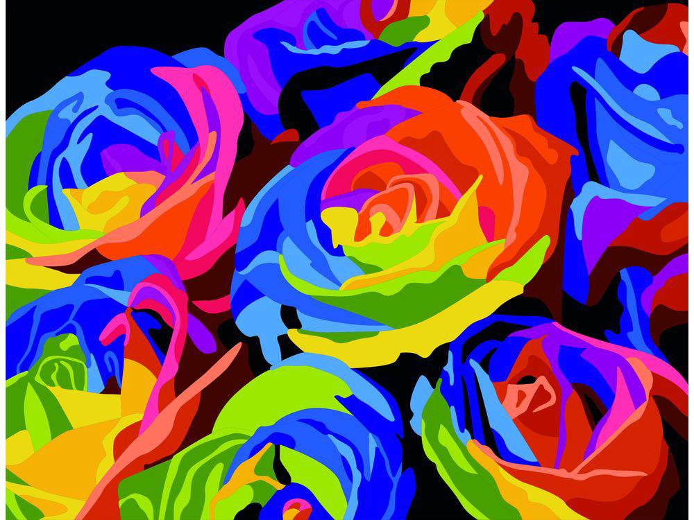 Картина цветным песком «Радужные Розы»Картины из цветного песка<br>Картины песком завоевали популярность среди взрослых и детей благодаря интересному творческому процессу и прекрасному результату. Мы разнообразили ассортимент в этом виде творчества, и теперь наши покупатели могут создавать полюбившиеся композиции из сери...<br><br>Артикул: 304001028<br>Размер: 30x40 см<br>Количество цветов: 25<br>Упаковка: Картонная коробка