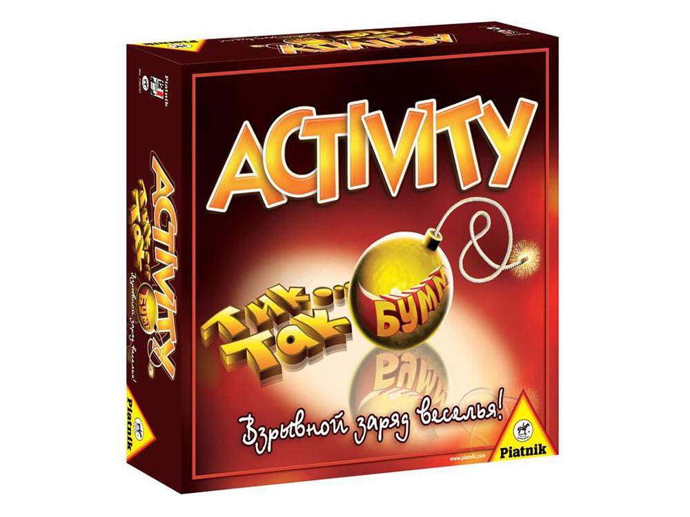 Настольная игра «ACTIVITY + Tик Так Бумм»