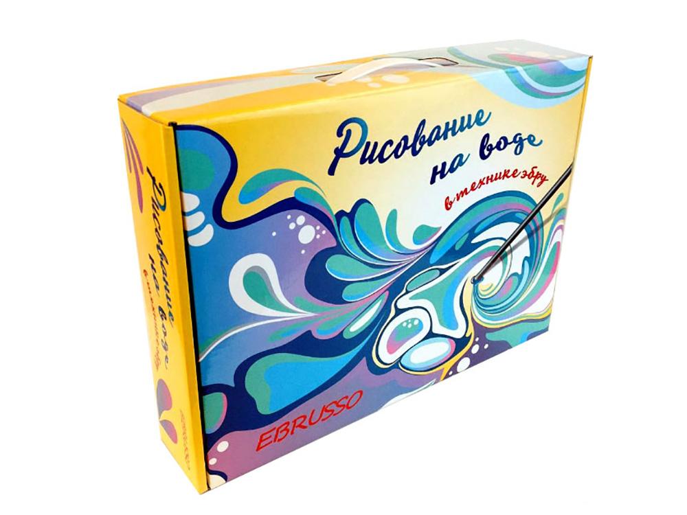 Набор для эбру Ebrusso 8 цветов (подарочная упаковка)Рисование на воде Эбру<br>Наборы от EBRUSSO помогут научиться создавать произведения искусства с помощью воды и красок. Техника Эбру - искусство рисования на воде, сочетает в себе живопись и эстамп (оттиск на любой поверхности), позволяет воплотить свои эмоции и чувства в карт...<br><br>Артикул: EBR22