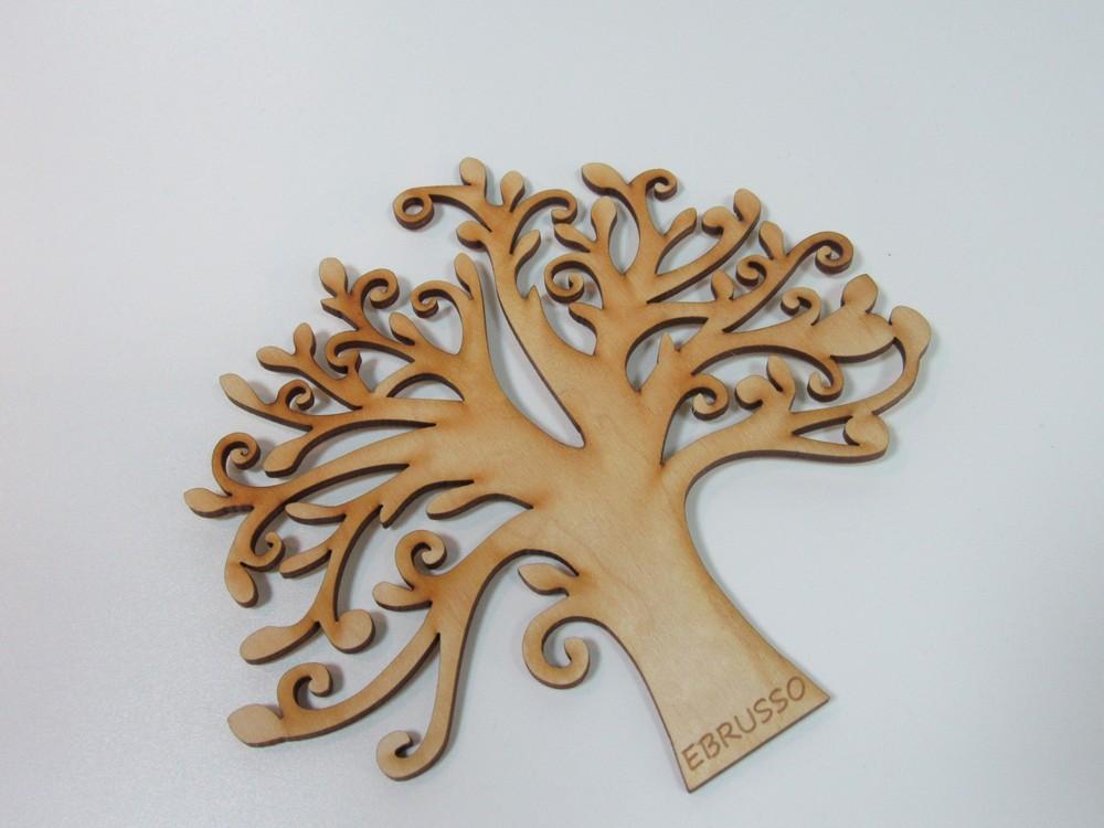 Деревянная заготовка для эбру Дерево счастья, EBRUSSO