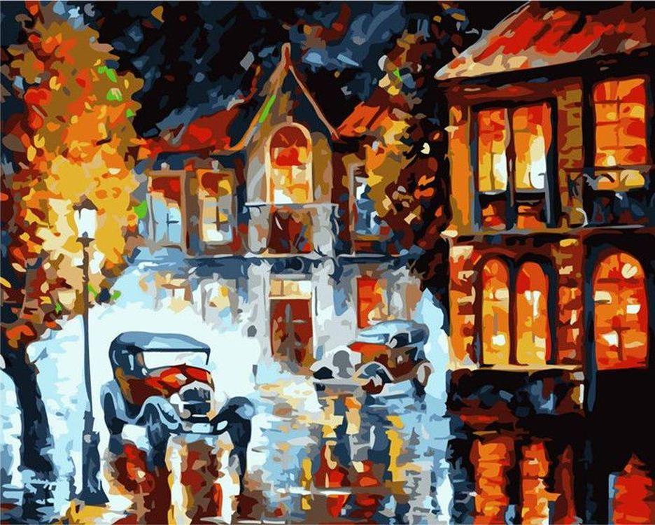 «В старом городе» Леонида АфремоваPaintboy (Premium)<br><br><br>Артикул: GX6941<br>Основа: Холст<br>Сложность: средние<br>Размер: 40x50 см<br>Количество цветов: 24<br>Техника рисования: Без смешивания красок