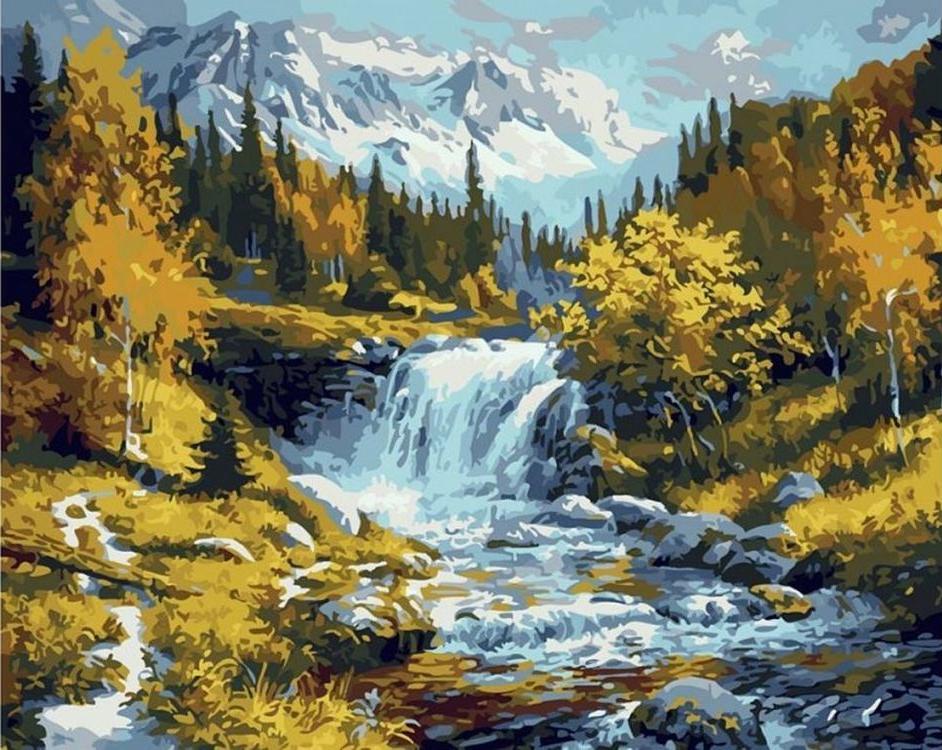 «Природа»Paintboy (Premium)<br><br><br>Артикул: GX7363<br>Основа: Холст<br>Сложность: сложные<br>Размер: 40x50 см<br>Количество цветов: 26<br>Техника рисования: Без смешивания красок