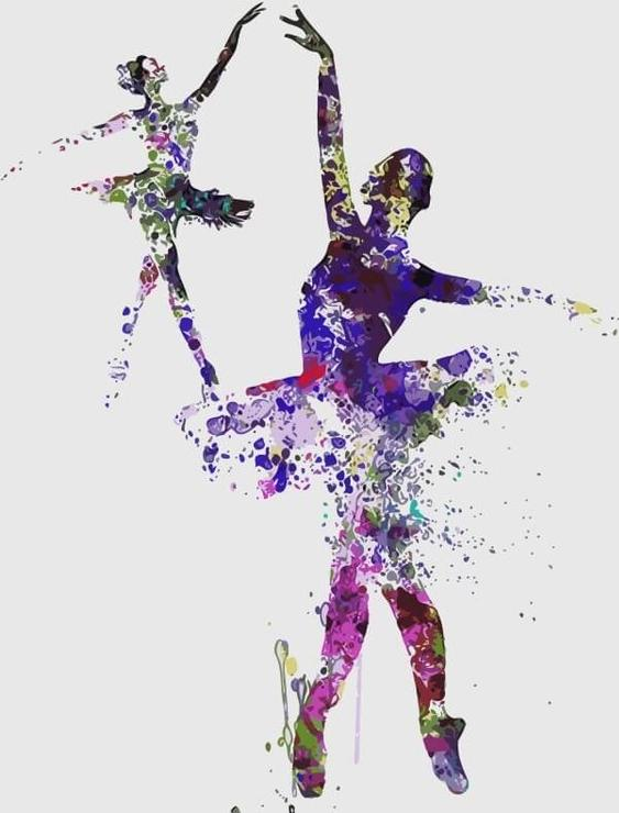 Картина по номерам «Балет» Ирины МарчЦветной (Premium)<br><br><br>Артикул: MC1044_Z<br>Основа: Холст<br>Сложность: средние<br>Размер: 20x30 см<br>Количество цветов: 10-15<br>Техника рисования: Без смешивания красок