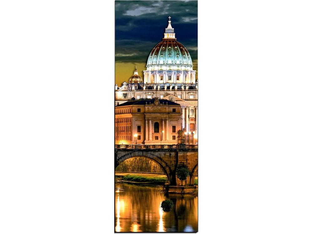 """Папертоль «Вечер в Риме» часть 3Магия Хобби<br>Техника папертоль - объемное 3D-изображение из бумаги, созданное собственноручно. Простая в исполнении, но очень необычная техника. Набор содержит:<br> - разобранное """"по слоям"""" изображение картины, выполненное на качественной плотной бумаге;<br> - инструкцию ...<br>"""