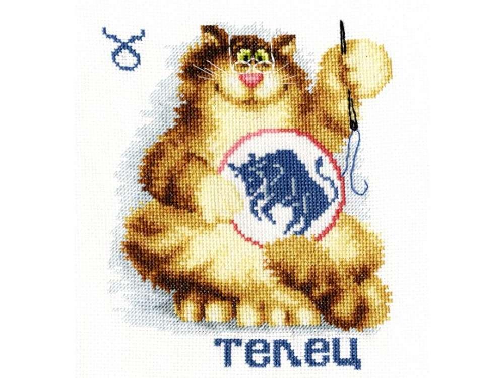 Набор для вышивания «Знак зодиака «Телец»»Вышивка крестом<br><br>