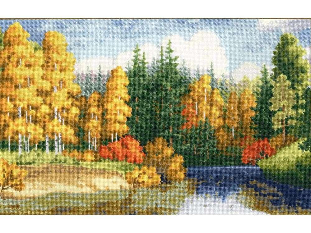 Набор для вышивания «Золотая осень»Вышивка крестом<br><br>