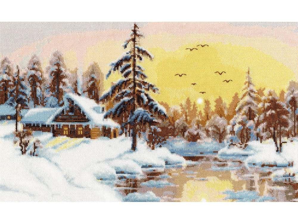 Набор для вышивания «Снежный рассвет»Вышивка крестом<br><br>
