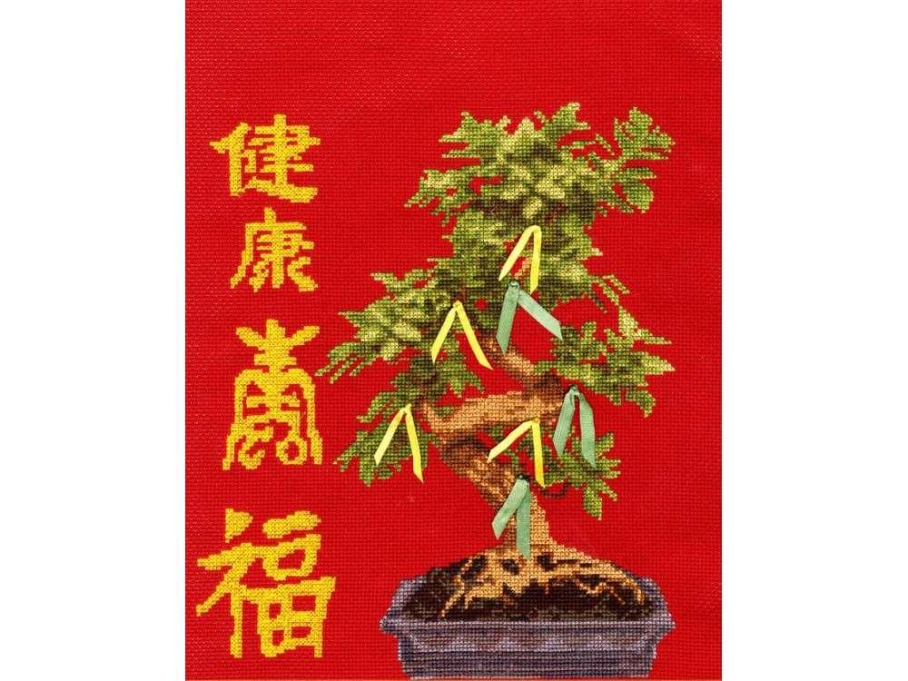 Набор для вышивания «Дерево здоровья»Вышивка крестом Золотое Руно<br><br><br>Артикул: МГ-010<br>Основа: канва Aida 14<br>Размер: 27x22,5 см<br>Техника вышивки: счетный крест<br>Тип схемы вышивки: Черно-белая схема<br>Цвет канвы: Красный<br>Количество цветов: 18<br>Заполнение: Частичное<br>Рисунок на канве: не нанесён<br>Техника: Вышивка крестом
