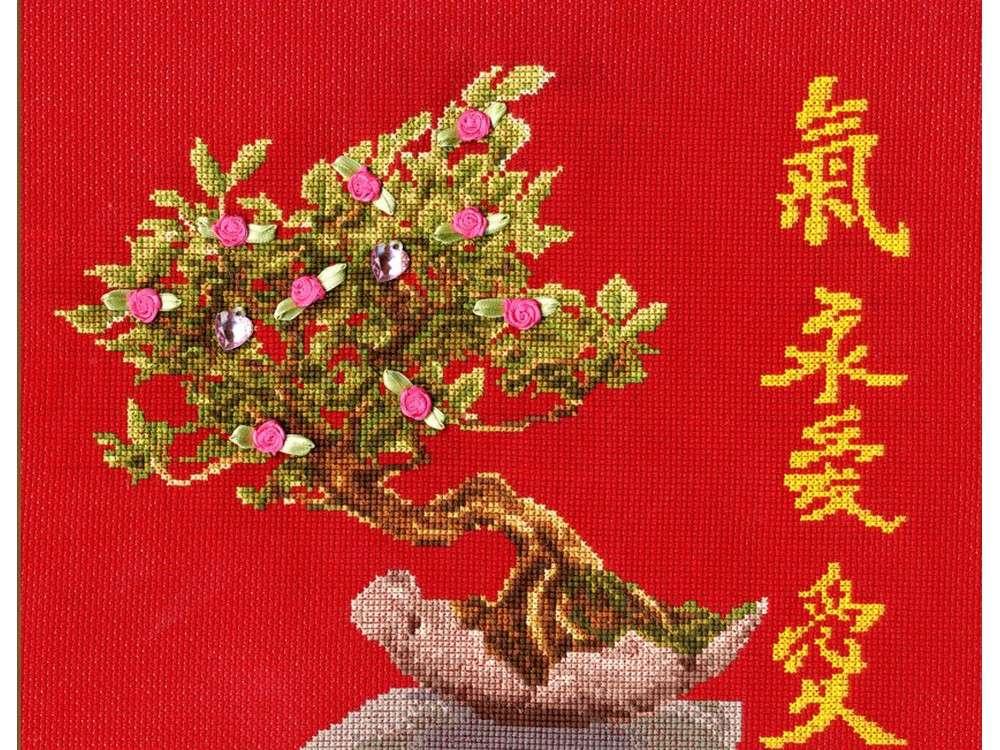 Набор для вышивания «Дерево любви»Вышивка крестом Золотое Руно<br><br><br>Артикул: МГ-011<br>Основа: канва Aida 14<br>Размер: 21,7x26,5 см<br>Техника вышивки: счетный крест<br>Тип схемы вышивки: Черно-белая схема<br>Цвет канвы: Красный<br>Количество цветов: 21<br>Заполнение: Частичное<br>Рисунок на канве: не нанесён<br>Техника: Вышивка крестом