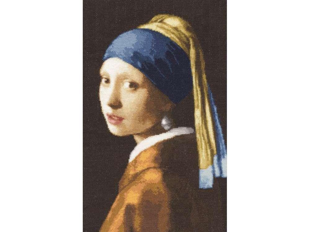 Набор для вышивания «Девушка с жемчужной сережкой»Вышивка крестом<br><br>