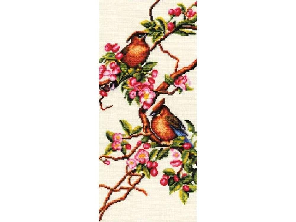 Набор для вышивания «Яблоня в цвету»Вышивка крестом Золотое Руно<br><br>