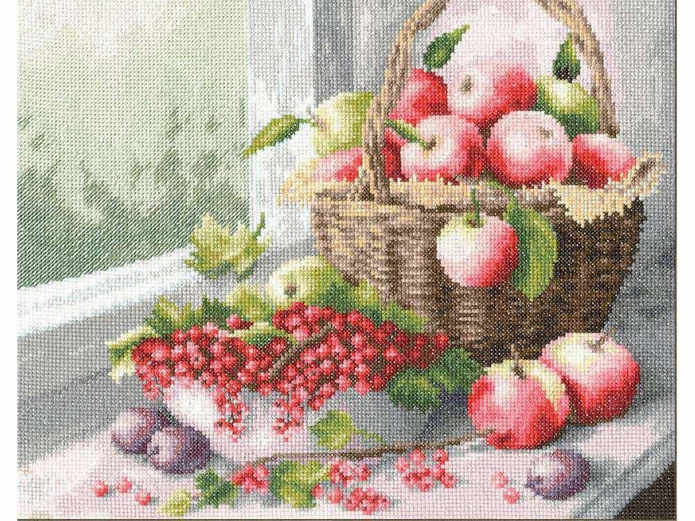Набор для вышивания «Яблочный спас»Вышивка крестом Золотое Руно<br><br><br>Артикул: ФИ-010<br>Основа: канва Aida 14<br>Размер: 24x30,1 см<br>Техника вышивки: счетный крест<br>Тип схемы вышивки: Черно-белая схема<br>Цвет канвы: Белый<br>Количество цветов: 44<br>Заполнение: Полное<br>Рисунок на канве: не нанесён<br>Техника: Вышивка крестом