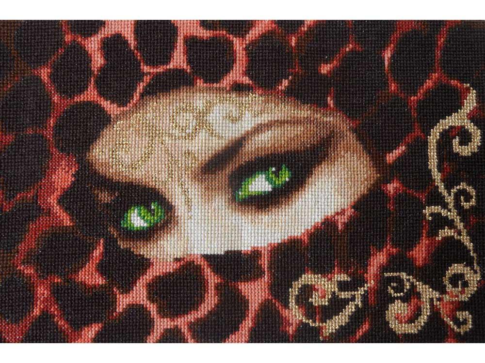 Набор для вышивания «Изумруд»Вышивка крестом Золотое Руно<br><br><br>Артикул: Ф-014<br>Основа: канва Aida 14<br>Размер: 18,5x27,5 см<br>Техника вышивки: счетный крест<br>Тип схемы вышивки: Черно-белая схема<br>Цвет канвы: Кремовый<br>Количество цветов: 16<br>Заполнение: Полное<br>Рисунок на канве: не нанесён<br>Техника: Вышивка крестом