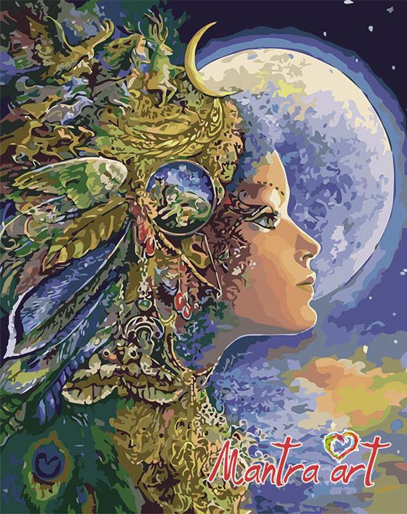 «Диана» Жозефины Уолл + в наборе подарокРаскраски по номерам Mantra Art<br><br><br>Артикул: 1037<br>Основа: Холст<br>Сложность: очень сложные<br>Размер: 40x50 см<br>Количество цветов: 34<br>Техника рисования: Без смешивания красок